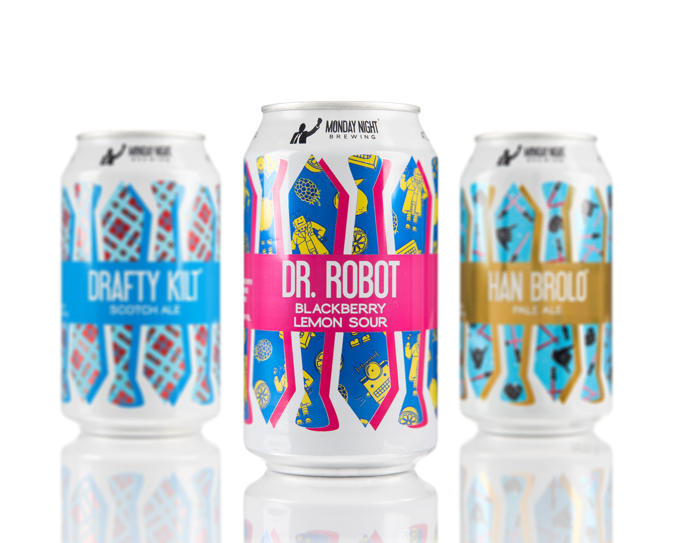 Packaging Redesign for Monday Night Brewing
