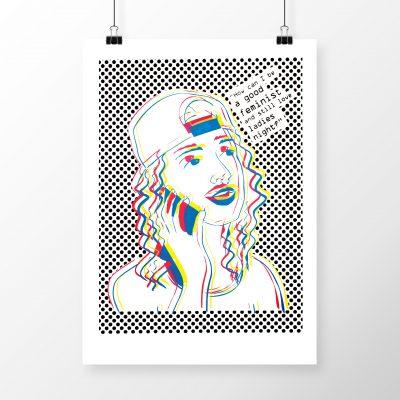 Ladies Night #2 by Madison Sternig - limited edition silkscreen print