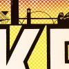 """Detail shot of """"MKE"""", limited edition silkscreen print by Madison Sternig"""