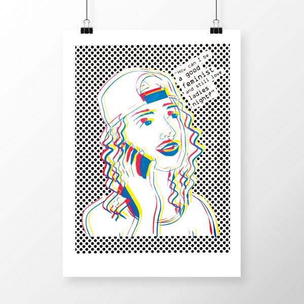 Ladies Night #2 by Madison Sternig - limited edition silkscreen print